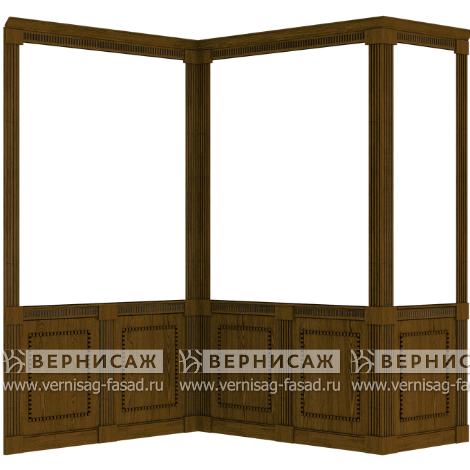 Стеновые панели из шпона, вариант 2