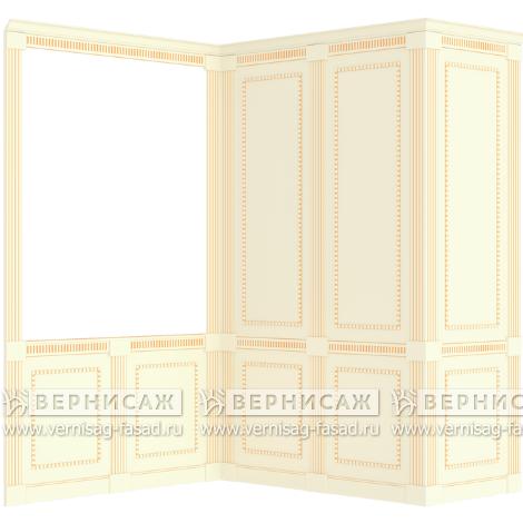 Стеновые панели крашеные, вариант 4
